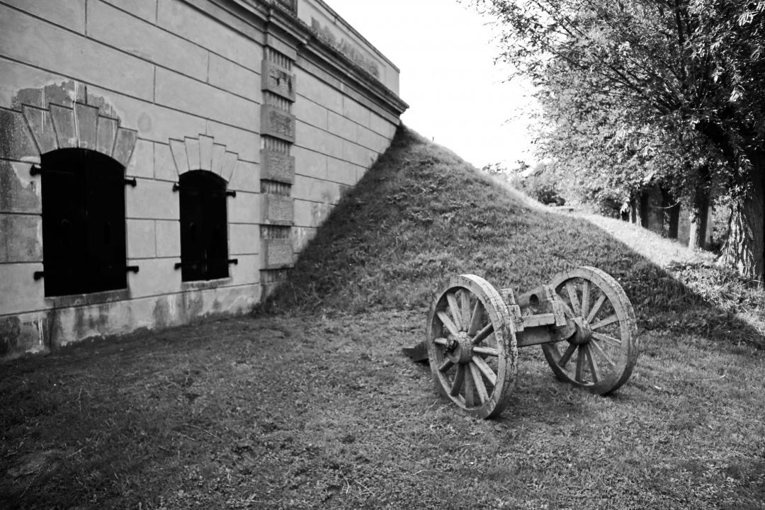 Fort Sabina = natuur